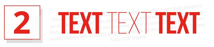2 - Text Text Text
