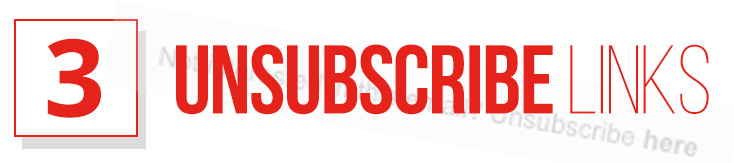 3 - Unsubscribe Link