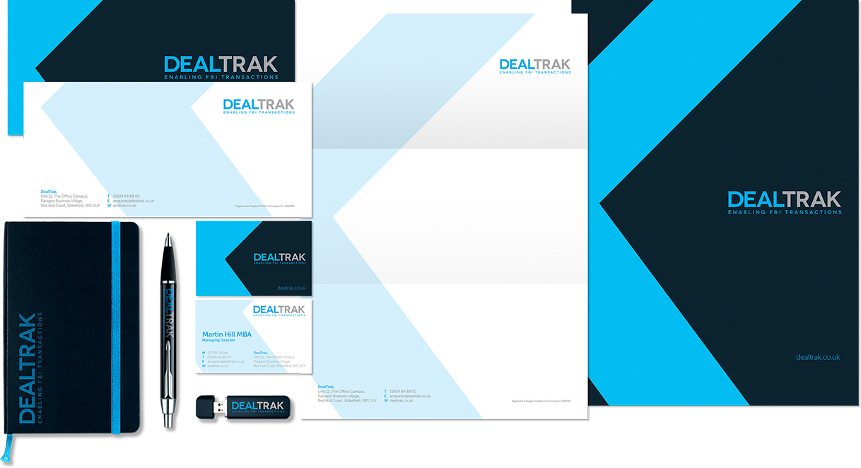 DealTrak Stationery